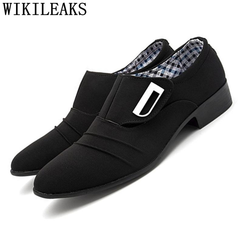 2019 Scarpe Da Uomo Oxford Scarpe Per Uomo Vestito Scarpe Da Uomo Scarpe Zapatos De Hombre De Vestir Formale Mocassino Homme Herren Schuhe Italienisch
