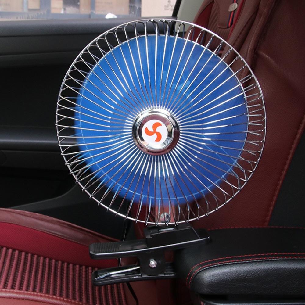 """5 /""""ocscillating Ventilador 12v Con Ventosa montaje Ideal Para Autos Camionetas caravanas"""