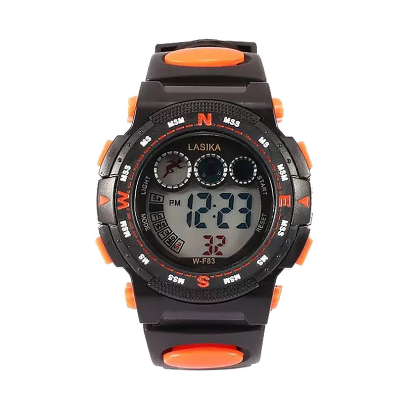 Multi Function Alarm Clock Student Waterproof Sports Fashion Electronic Watch Kids Watches Gps Track Watch #4a11