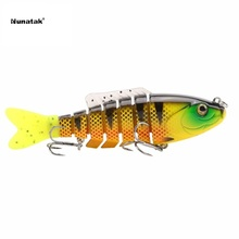 Fishing Lure Artificial Bait Plastic Hard Fishing Lure 80mm 19g sk001 artificial Sinking Wobblers With BKK Hooks 5 Color