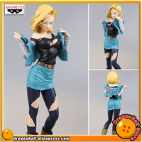 Japan Anime Dragon Ball Z Original Banpresto Glitter & Glamours Collection Figure Android No.18 (Special Color ver.)