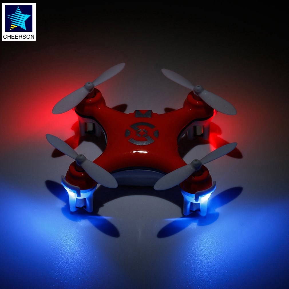 Mini RC Helicopters Radio Control Aircraft Headless Mode Drone Quadcopter For Cheerson CX-10 2.4G 4CH 6Axis Remote Control Toys