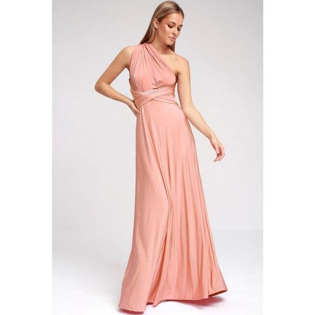 beautiful long dress criss cross waist 6
