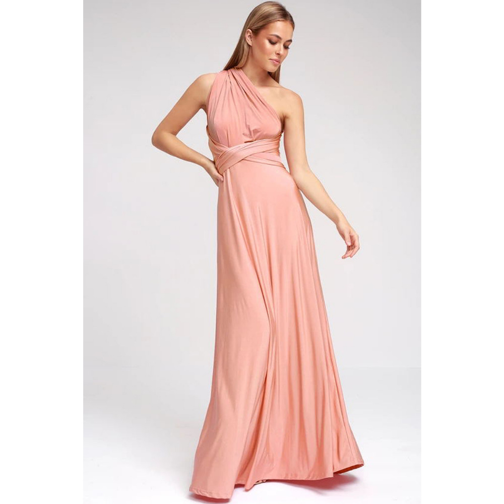 Sexy Women Multiway Wrap Convertible Boho Maxi Club Red Dress Bandage Long Dress Party Bridesmaids Infinity Robe Longue Femme 5