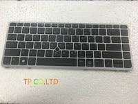 90% NEW For HP Elitebook 840 G1 840 G2 850 G1 Keyboard US backlit 736654 001 731179 001 with frame