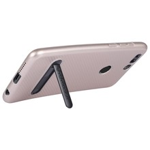 TOTUDESIGN Slim Series Carbon Fiber Texture TPU Case for Huawei Honor 8 with Holder(China)