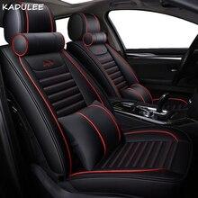 KADULEE car seat covers for Mitsubishi outlander sport pajero ASX Lancer SPORT EX Zinger FORTIS Outlander
