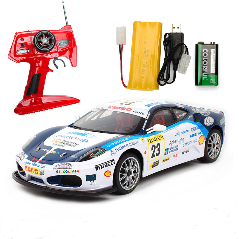 Image 2 - Remote control car for F430 special edition 4WD drift racing champion 2.4G off road Rockstar wireless remote control car-in RC Cars from Toys & Hobbies