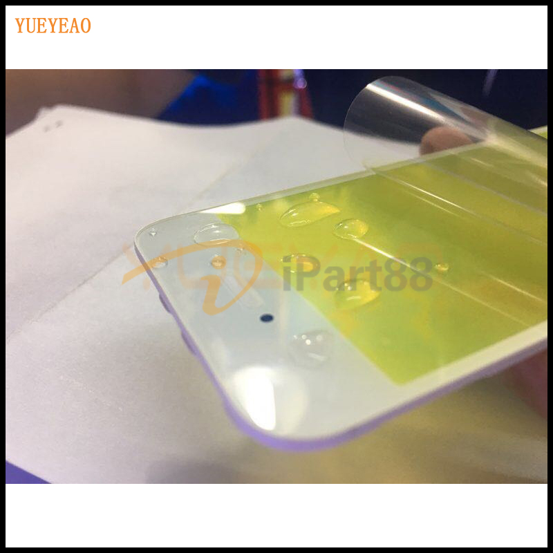 YUEYAO Touch Panel Outer Glass with Frame For iPhone 5 5S 6 6S 6S Plus LCD Touch Screen Replacement Front Glass Lens With Bezel image