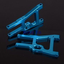 102019B HSP Front Lower Suspension Arm For RC 1/10 Model Car 02008 Upgrade Parts,Blue