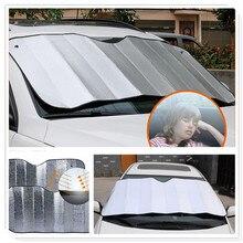 Окна автомобиля солнцезащитный козырек шторы на ветровое стекло экран козырек от солнца авто автомобиль forRenault Megane Kadjar EZ-GO Captur Arkana Zoe