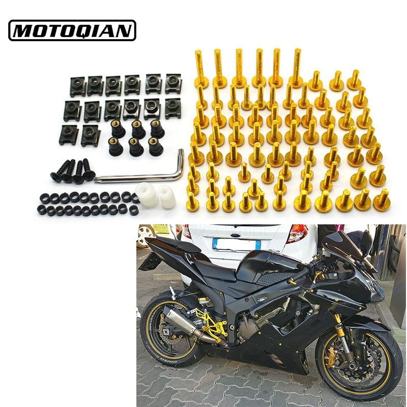 Universal Motorcycle Screws Fairing Body Bolts Spire Screw Nuts For Ducati Monster 696 821 796 1100 620 600 900 797 1200 1100 screws 2007 bk complete fairing bolt nut screw kit for ducati monster 696 796 st4s scrambler 959 panigale fairing bolt screws