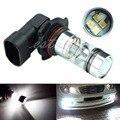 20-SMD XB-D 9006 6000 К 100 Вт LED 20-SMD Проектор Противотуманные Фары Вождения DRL Свет Лампы Белого Авто СВЕТОДИОДНЫЕ Фонари
