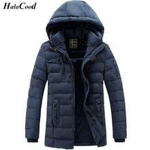 Hot Quality Parka Men Coats Winter Jacket Men Slim Thicken Hooded Outwear Warm Coat Brand Clothing Casual Mens Coat Homme Tops