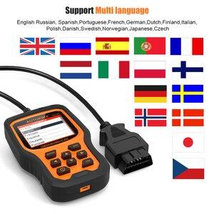 Image 3 - Autophix om129 obd2 scanner ler códigos de diagnóstico automático scanner verificar motor bateria carro código leitor obd ferramentas