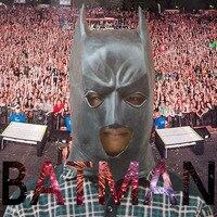 Новая Горячая Каучуковый Латекс Бэтмен Маска Для Хэллоуина Праздник Praty Deluxe Маски Костюм