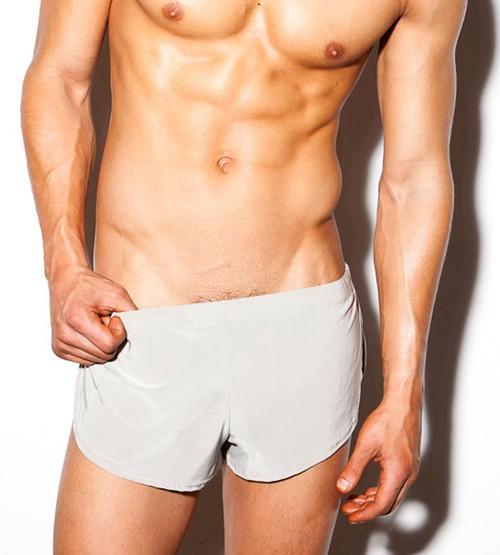 Mens Soft Dream Split Pacer Home Shorts N2N Style Lounge Shorts Underwear UK POS