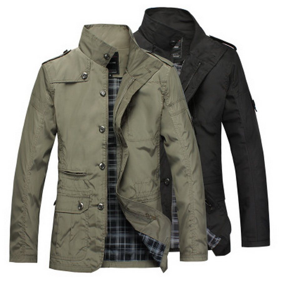 by dhl 50pcs new Thin Men Jacket Coat Wear 5XL Korean Comfort Autumn Overcoat Necessary Spring