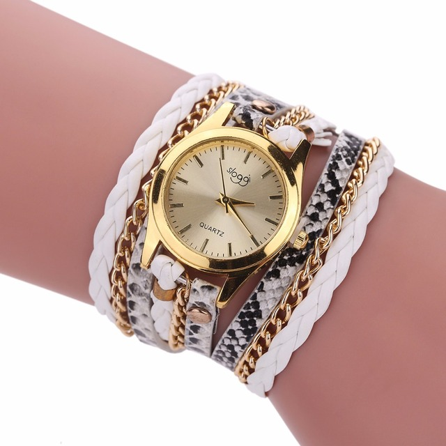 שעון קוורץ לאישה עם צמידים אופנתיים 5