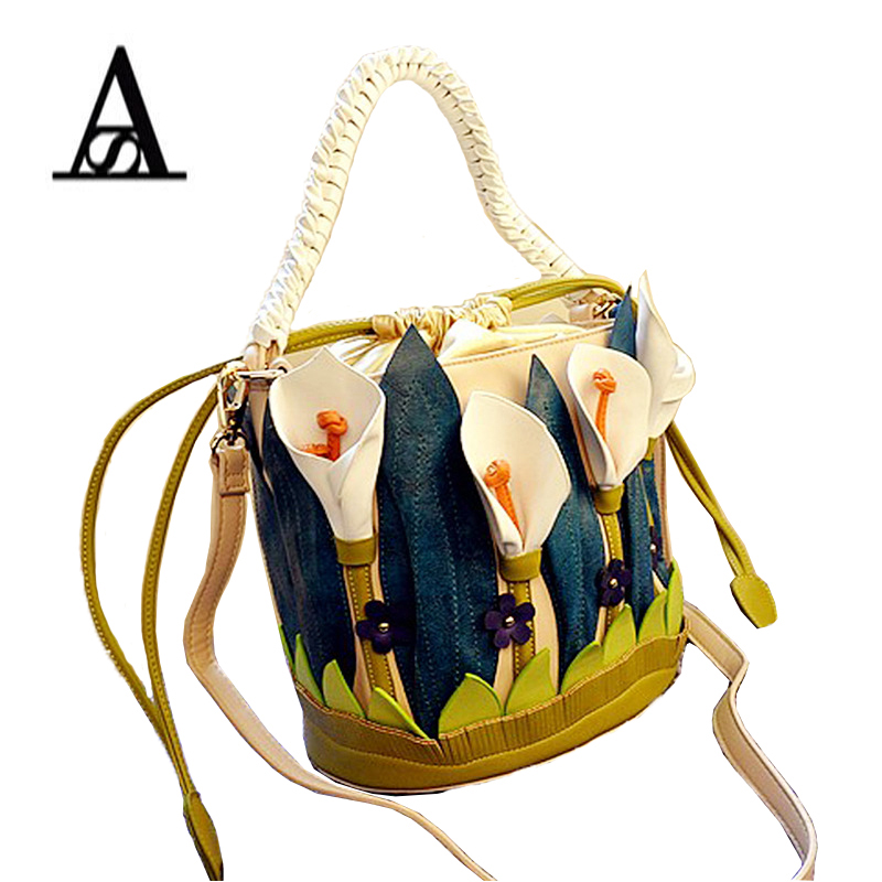 2016 New Famous Brand Women Shoulder Bag Italy Braccialini Handbag Slily Bag Handmade Bolsa Feminina Braccialini For Ladies famous brand women canvas bags shoulder bag italy handbag style retro handmade bolsa feminina braccialini for ladies mexico bags
