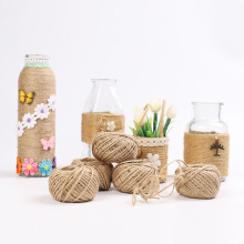 1Roll 30 Meters Jute Hemp Rope Burlap String Cord DIY Making Craft Party Wedding Gift Wrapping Cords Scrapbooking Decor