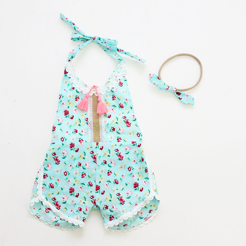 Summer Cotton Baby Rompers Infant Toddler Jumpsuit Lace Collar Sleeveless Baby Girl Clothing Newborn Overall Clothes cotton baby rompers infant toddler jumpsuit lace collar short sleeve baby girl clothing newborn bebe overall clothes h3