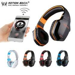 KOTION EACH B3505 bezprzewodowe słuchawki Bluetooth z pałąkiem na głowę gamingowy zestaw słuchawkowy z mikrofonem BT4.1 stereofoniczne słuchawki do iphone'a Xiaomi|kotion each|gaming headsetheadset each -