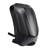 Black Motorcycle Bag Waterproof Motorcycle Backpack Touring Luggage Bag Hard Shell Backpack Moto Magnetic Tank Bag