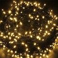 1x10 m 80led hadas impermeable conectable cadena de luz led para el árbol de navidad fiesta de navidad decoración luz 220 v/110 v ue/us plug