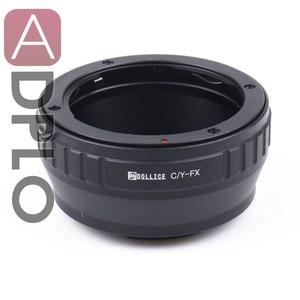 Image 1 - C/Y FX, עדשת מתאם חליפת עבור Contax C/Y הר עדשה כדי חליפה עבור Fujifilm X מצלמה X Pro2 X E2S X T10 X T1IR x A2 X T1