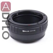 C/Y FX, adaptador de lente Suit Para Contax C/Y Montagem Da Lente para Terno para Fujifilm X Câmera X Pro2 X E2S X T10 X T1IR x A2 X T1