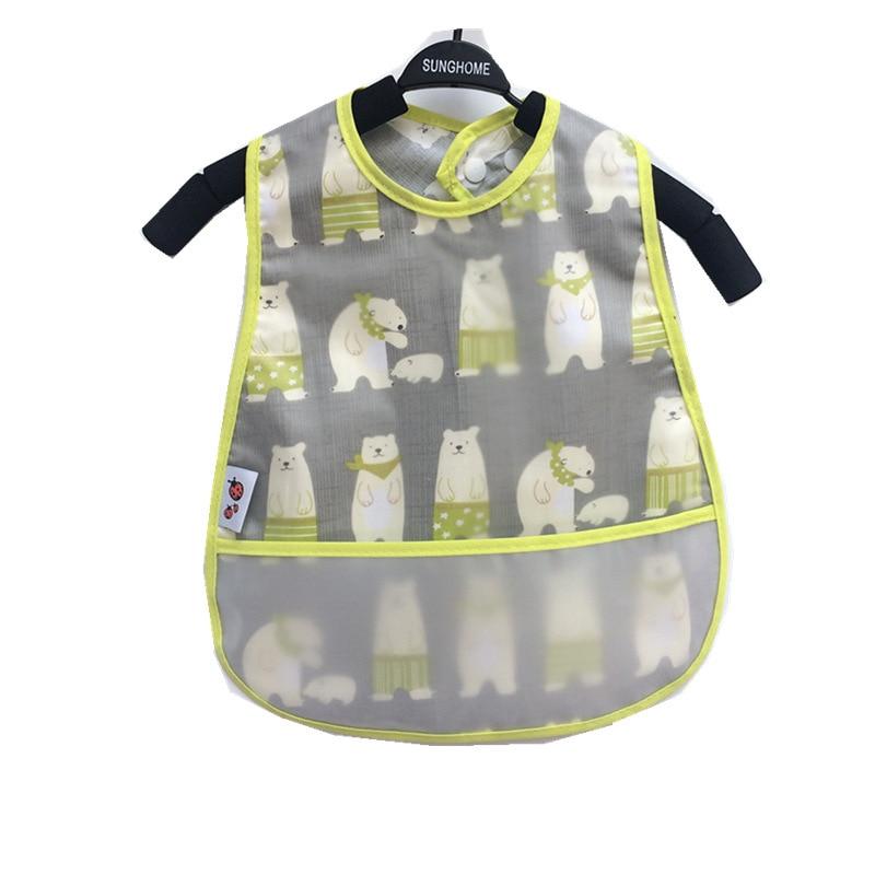 Waterproof Apron Baby Bib