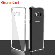 67d8293d0a3 TPU cubierta Shell Funda de cuero Fundas Carcasa Para Samsung Galaxy Alpha  G850F S7 S8 + S9 + Plus J3 J5 J7 A3 A5 A7 2017 funda .