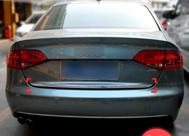 Задние ворота Крышка Накладка для Audi A4 B8 2008 2009 2010 2011 2012