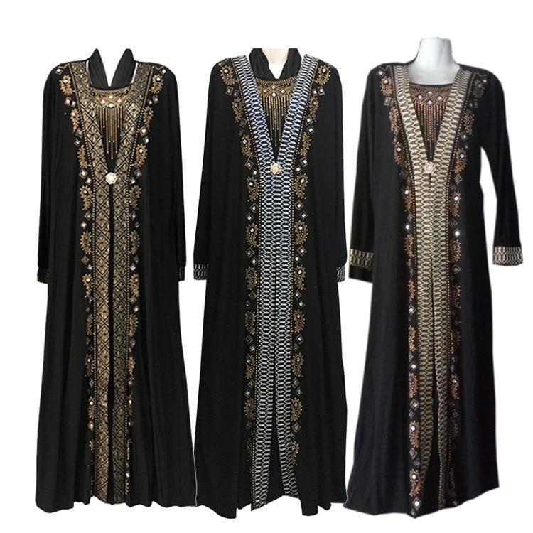 free shipping Muslim black abaya islamic clothing for women Muslim Women's Abaya