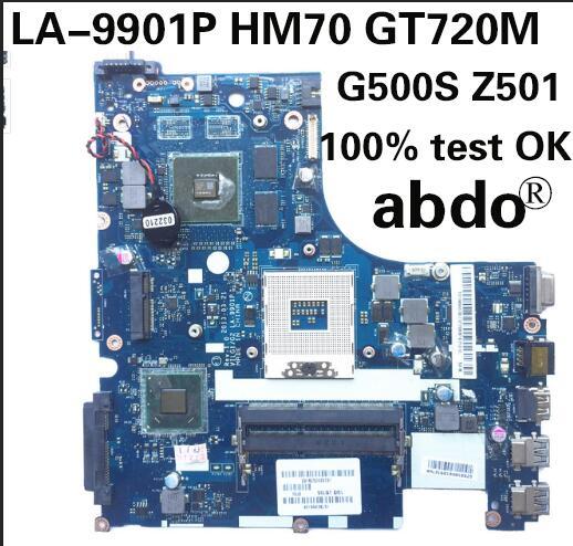 Para Lenovo la-9901p g500s Z501 placa base de ordenador portátil VILG1/G2 la-9901p HM70 gt720m apoyo Pentium CPU 100% prueba OK