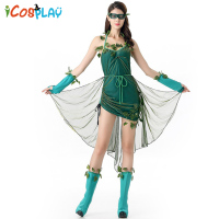 Halloween Elf Fairy Cos Elf Character COS Anime Character Play Costume Activity Performance Costume Holiday Funny Show