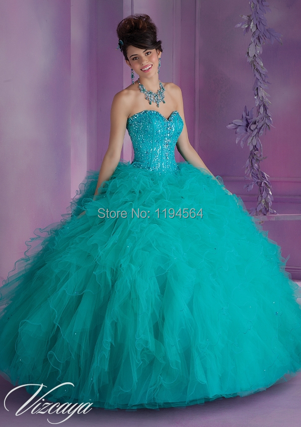 Compare Prices on Quinceanera Dresses Turquoise- Online Shopping ...