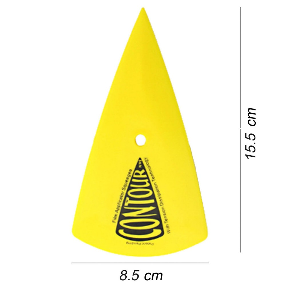 1PC Free shipping Car vinyl Film Sticker wrapping tool Pointed end Squeegee Scraper size 15.5*8.5cm vehicles decal tools A13