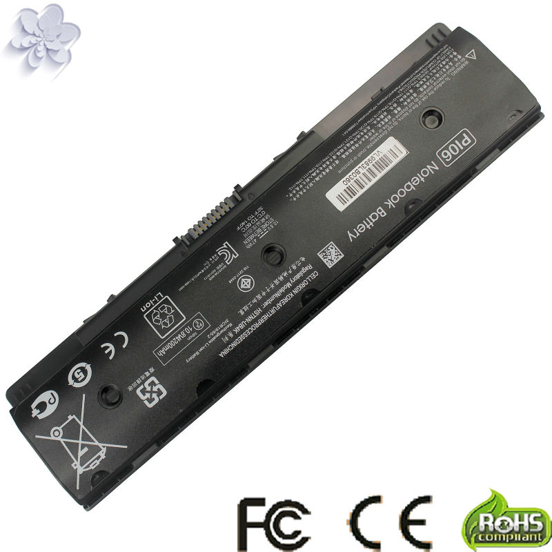 battery For HP HSTNN-LB4O/YB4N/YB4O P106 PI06 PI09 Envy TouchSmart 14 14t 14z 15 15t 15z 17 17t 17z Series M7 M7t M7z p106 battery for hp pavillion 15 envy 15 spare hstnn lb4n hstnn lb4o hstnn ub4n hstnn ub4n