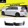 MK7 FRP Unpainted Black Primer Car Rear Wings Trunk Lip Spoiler For VW Golf VII MK7 Standard 2014UP