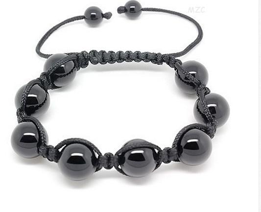 Bracelet Shamballa Onyx