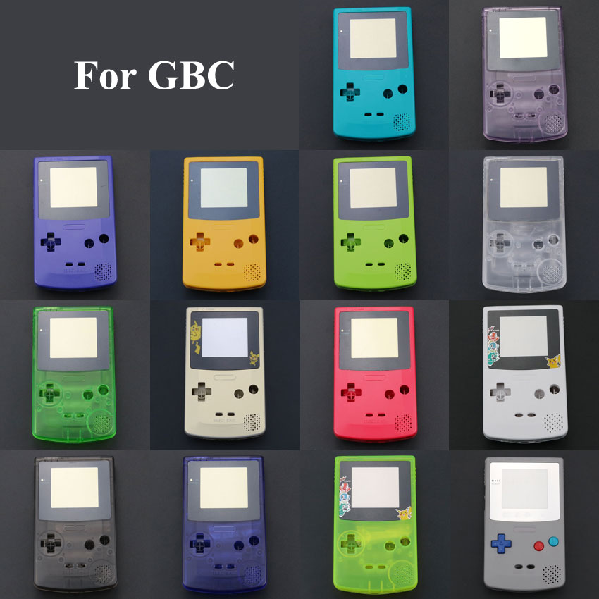 Image 2 - ChengHaoRan 1 set New Full Housing Shell Cover Case for Nintendo Game boy Color GBC Replacement Repair Parts Pack kit-in Cases from Consumer Electronics