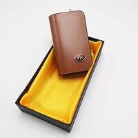 Car Smart Key Chains Bag Remote Key Case Keyring Wallet Zipper Cover For Meredes Benz Nissan