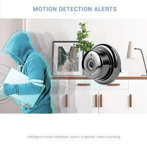 Image 4 - Gran oferta 1080P Monitor de bebé cámara IP de seguridad Wi Fi inalámbrica red CCTV Mini cámara de vigilancia P2P cámara de visión nocturna