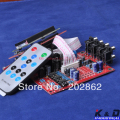Free shipping 1pc/lot 6Way M62446 5.1 Volume Remote Control Preamplifier Kit