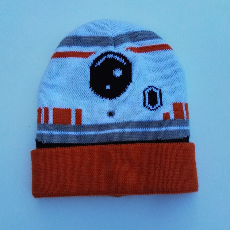 1b47b7a9d2e Wars Darth Vader Stormtrooper BB 80 Knitted Caps Cartoon Fashion Mask  Beanies for Baby Kid Cap Winter Warm Skullies Hip Hop Hats-in Skullies    Beanies from ...