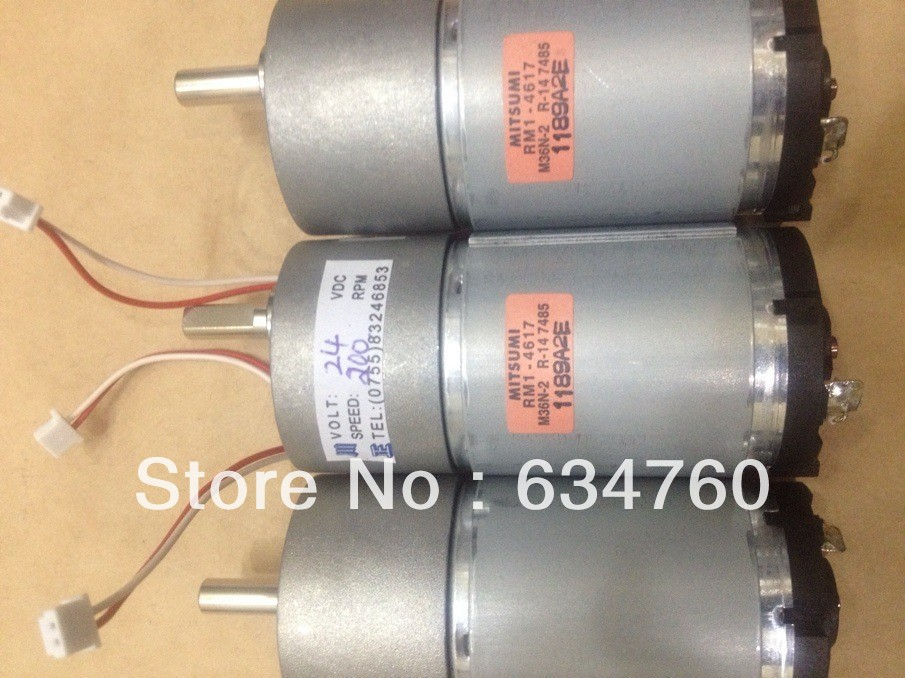 Physical store sales spot supply DC 24V 37GB545 200 gear motor