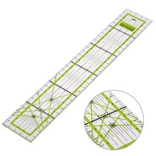 VODOOL 5x30cm Transparent Acrylic Sewing Patchwork Ruler Quilting Feet Tailor Ruler Tool School Student Office Stationery Gift quilting ruler acrylic quilters ruler non slip rings patchwork ruler diy sewing patchwork tool
