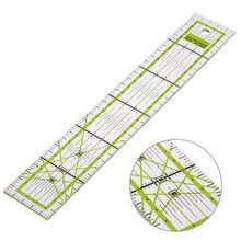 VODOOL 5x30cm Transparent Acrylic Sewing Patchwork Ruler Quilting Feet Tailor Ruler Tool School Student Office Stationery Gift(China)